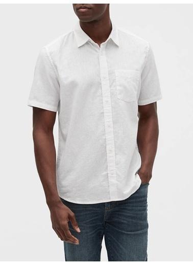 Gap Klasik Gömlek Beyaz